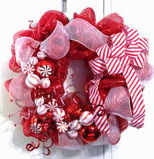 Holiday Wreath Ideas Pictures Ravishing Christmas Wreaths Ideas Showcasing White Red Color
