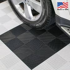 interlocking floor tiles rubber interlocking perforated drain floor tile 30 sq ft black