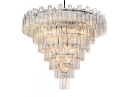 Cascading Chandelier by Monumental Venini Eight Tiered Chandelier At 1stdibs