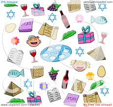 passover items clipart of doodled passover items royalty free