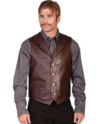mens leather motorcycle vest men u0027s leather vests sheplers