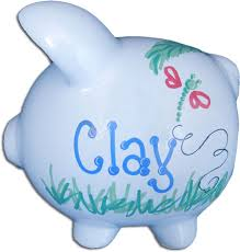 customized piggy bank personalized piggy bank