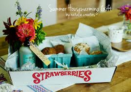 natalie creates summer inspired housewarming gift idea