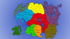 Elder Scrolls World Map by I Made This Elder Scrolls Risk Board Skyrim