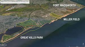 Map Staten Island Gateway National Recreation Area Staten Island Unit Overview