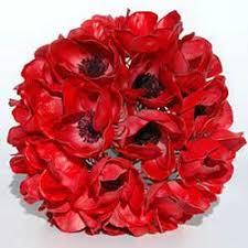 Red Wedding Bouquets Silk Wedding Flowers Artificial Wedding Flowers U0026 Bridal Bouquets