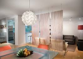 Living Room And Dining Room Divider Walls Interiors Stylish Hanging Room Dividers For Living Room