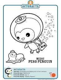 link printable octonaut coloring pages parties octonauts
