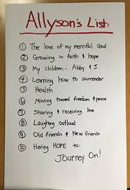 gratitude list 10 things to be thankful