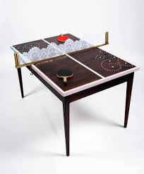 Spotted Paul Smith Ping Pong Table - Designer ping pong table