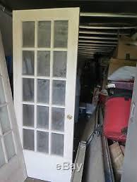 30 Interior Door Vintage Solid Wood 15 Glass Panel Interior Doors 30 X 79 X 2