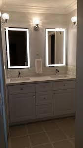bathrooms design mirror with built in lights large vanity mirror