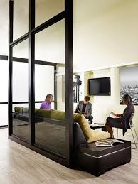 remarkable glass wall room divider best 25 glass walls ideas on
