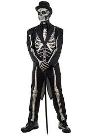 mardi gras costumes men bone chillin costume purecostumes