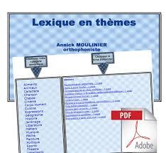 lexique de cuisine lexique en thèmes pdf