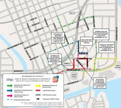 Florida Toll Road Map by Downtown Tampa Grid Project Updates