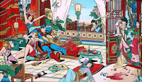 Chinese Art Design Chinese Artist Jacky Tsai Satirizes East And West Relations With
