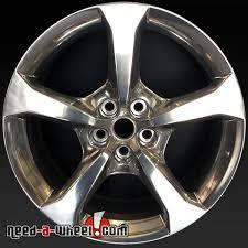 stock camaro rims 20 chevy camaro wheels oem 2013 rear polished rims 5583