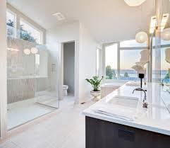 los angeles solid surface shower bathroom modern with vanity