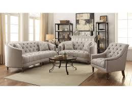 c shaped sofa coaster avonlea c shaped sofa with button tufting and nailhead