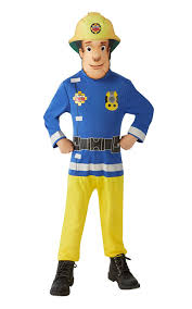 rubie u0027s official classic fireman sam child costume small