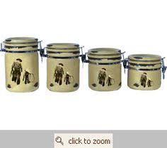 western kitchen canisters kitchen western canisters make my house a home