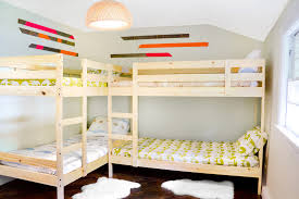 Make L Shaped Bunk Beds Build L Shaped Bunk Bed Plan Easy Ways Atzine