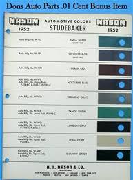 don u0027s studebaker 1 cent paint chips