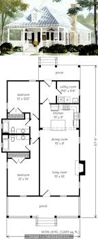 small farmhouse floor plans best 25 small cottage plans ideas on small home plans