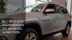 volkswagen atlas silver all new 2018 volkswagen atlas sel v6 w 4motion youtube