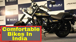 comfortable 10 most comfortable bike in india youtube