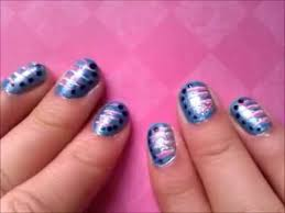 simple line nail design youtube