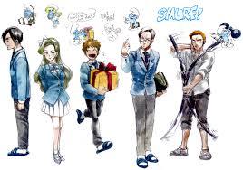 smurfs zerochan anime image board