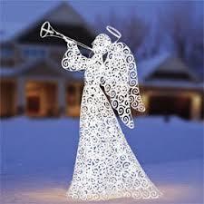4 ft indoor outdoor lighted blowing trumpet energy