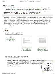 sample article review essay movie review sample sample of article review essay how to write a how to write a movie review sample reviews wikihow how to write a movie review sample