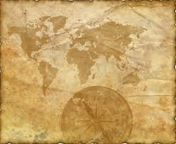 Ancient Map Ancient Map Of The World Compass U2014 Stock Photo Aelita 2971842