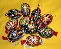 decorated egg shells easter eggs works of several artists among europe and diy supply
