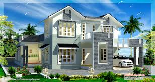 2800 square feet sloping roof 4 bedroom house kerala home design