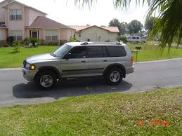 mitsubishi montero sport 2003 view of mitsubishi montero sport ls photos video features and