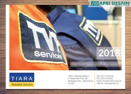 desain kalender meja keren desain kalender 2018 pt tiara vibrasindo pratama cover front by