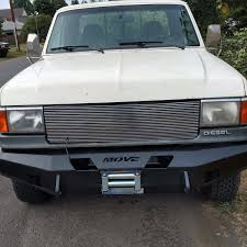 1997 Ford F250 Utility Truck - weld it yourself 1987 1991 ford f250 f350 bumpers move