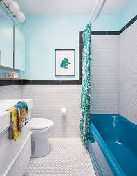 these awesome bathrooms will make you forget boring basic white