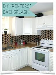 installing a backsplash in kitchen easy diy backsplash glassnyc co