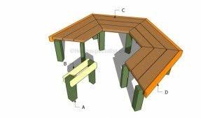 Circular Bench Around Tree Tree Benches Foter