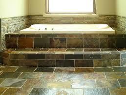 Slate Tile Bathroom Flooring Option U2014 New Basement And Tile Ideas