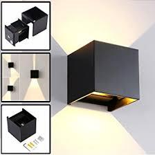 design aussenleuchten wandleuchte led innen außen modern mit einstellbar