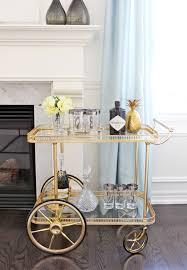 am dolce vita vintage bar cart styling