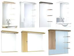 Bathroom Mirrors With Shelf Bathroom Mirror Shelf With Shelves Mirrors L Mirror Design