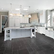 Tile For Kitchen Floor by Dark Grey Kitchen Floor Best Kitchen Designs