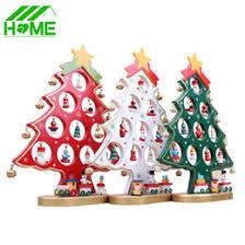 mini wooden tree decorations mini wooden